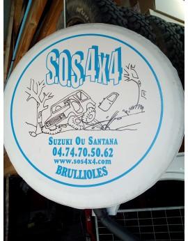 HOUSSE DE PROTECTION ROUE DE SECOURS SOS 4x4